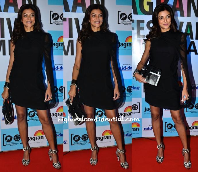 Sushmita Sen At 5th Jagran Film Festival Party-1