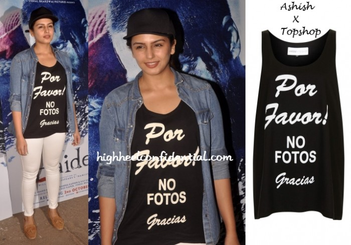 huma-qureshi-ashish-topshop-no-fotos-haider-screening