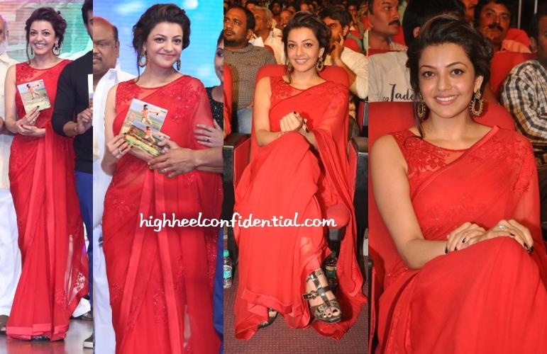 kajal-agarwal-amrita-thakur-Govindhudu-Andarivadele-music-launch