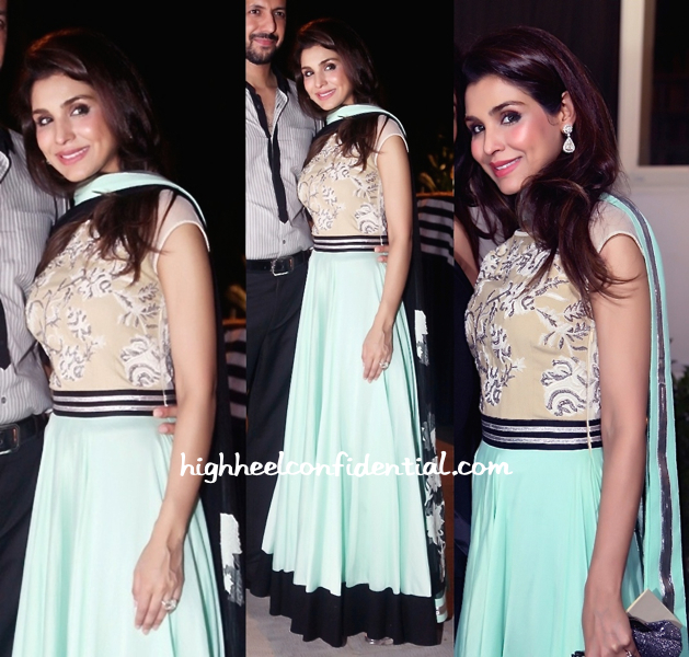 niamat bakshi in varun bahl at minu bakshi's spanish honor celebration