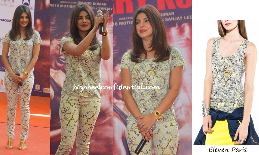priyanka-chopra-eleven-paris-mary-kom-noida-promotions
