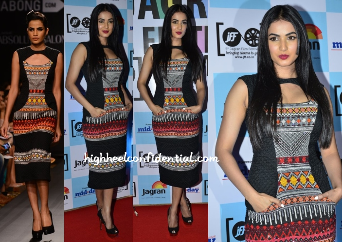 sonal-chauhan-nega-agarwal-5th-jagran-film-festival-party