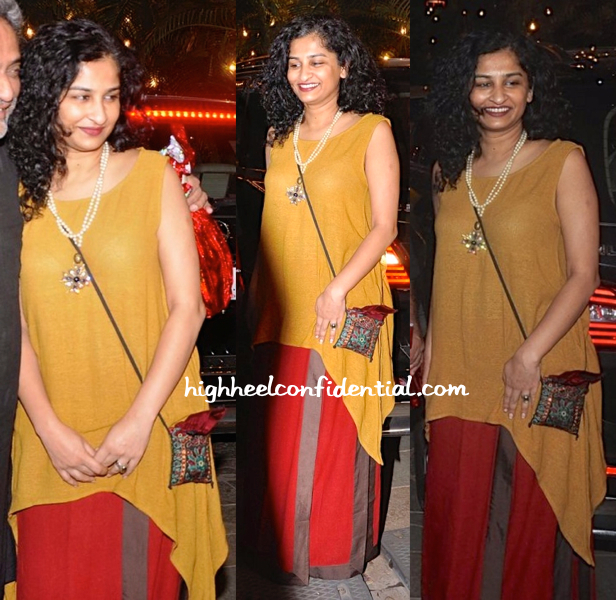 Gauri Shinde Wears Payal Khandwala To Bachchans' Diwali Bash