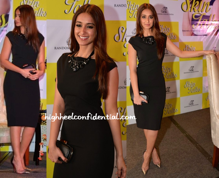 Ileana D'Cruz In Zara At 'Skin Talks' Book Launch-1