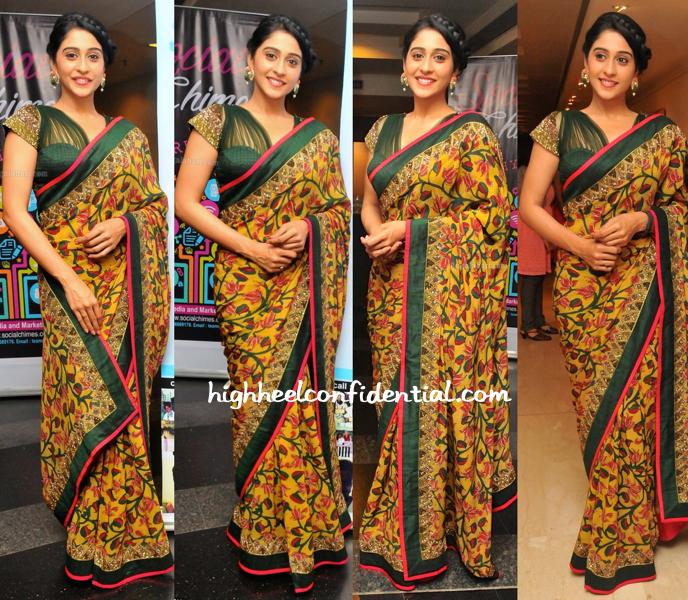 Regina Cassandra In Sashikant Naidu At Suchitra Krishnamoorthi's Art Show-1