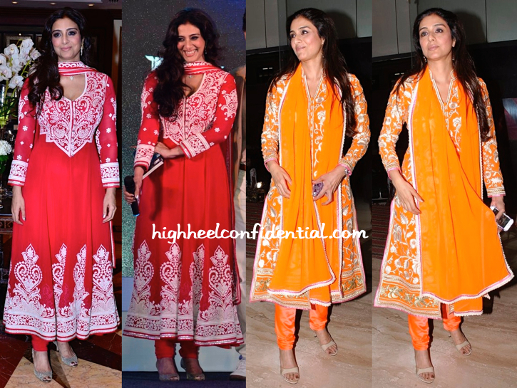 Tabu In Abu Jani Sandeep Khosla At 'Haider' Screening And Book Launch-1