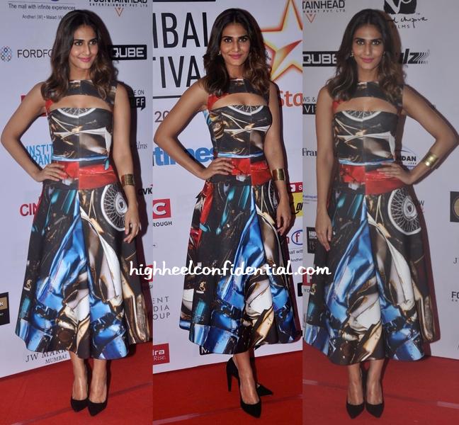 Vaani Kapoor In Gauri And Nainika At Mumbai Film Festival 2014 Closing Night-1