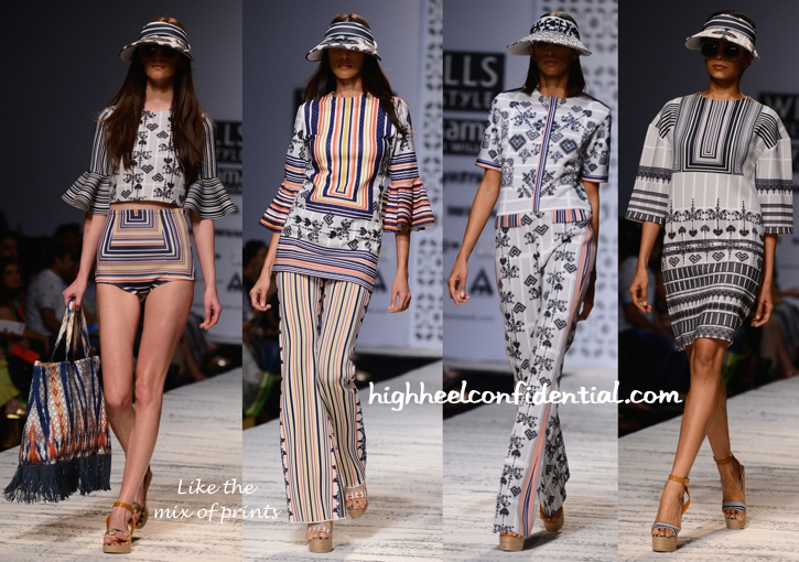 WIFW Spring:Summer 2015- Hemant And Nandita-2