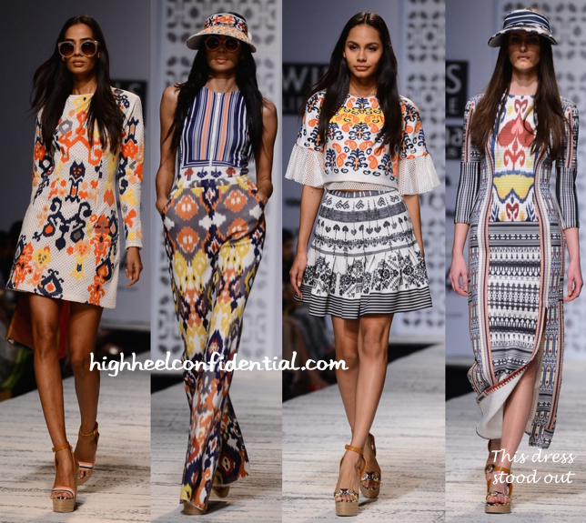 WIFW Spring:Summer 2015- Hemant And Nandita-4