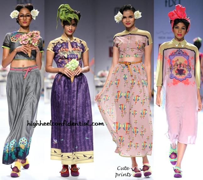 WIFW Spring:Summer 2015- Nida Mahmood-2