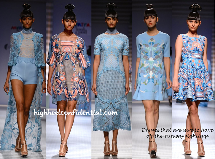 WIFW Spring:Summer 2015- Pankaj And Nidhi-2