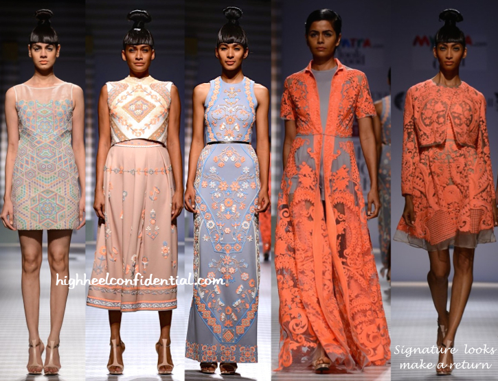WIFW Spring:Summer 2015- Pankaj And Nidhi-3