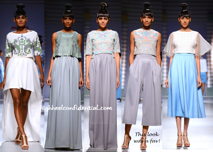 WIFW Spring:Summer 2015- Pankaj And Nidhi-4