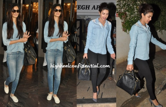 diana-penty-priyanka-chopra-denim-chambray-shirts