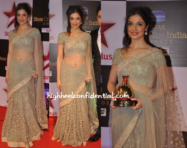 divya-khosla-kumar-sabyasachi-star-box-office-awards-2014
