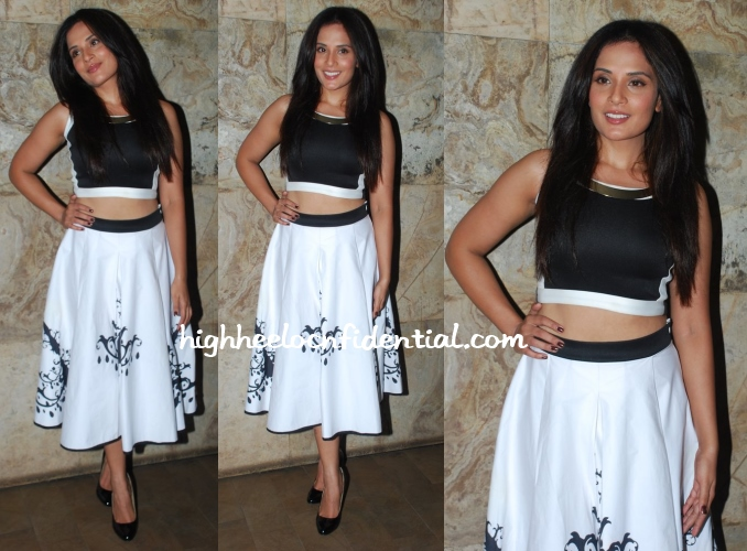 richa-chadda-farah-sanjana-fury-screening