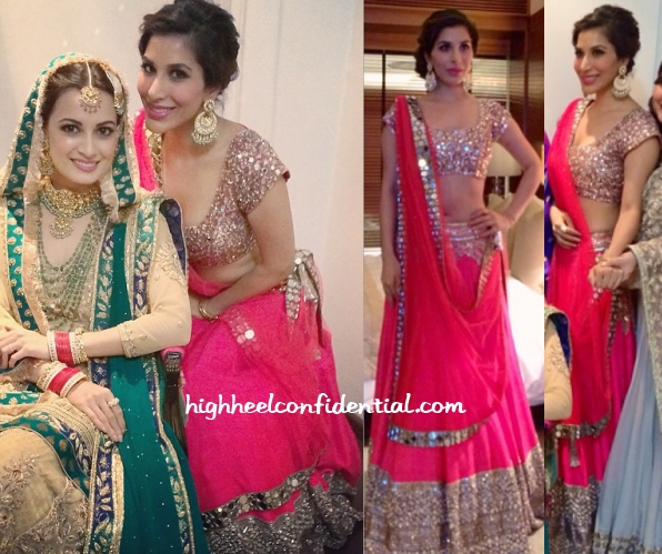 sophie-choudry-manish-malhotra-dia-mirza-wedding-reception