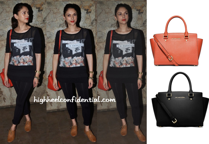 Aditi Rao Hydari At Gone Girl Screening