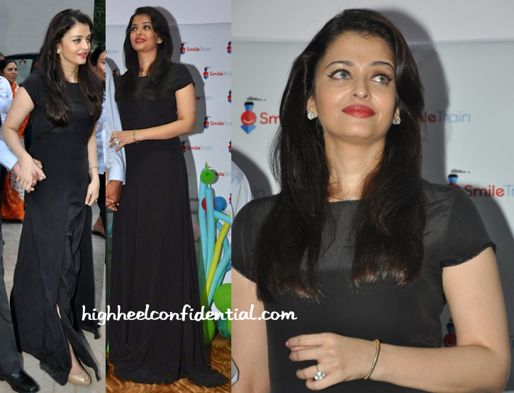 Aishwarya Rai Bachchan At Smile Train Foundation Event-1