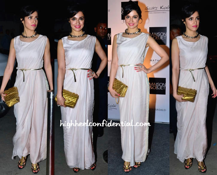 Divya Khosla Kumar In Bhavya Bhatnagar At The Design Cell-Maison & Objet Cocktail Event