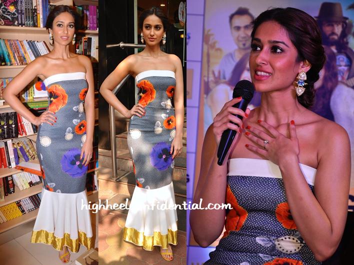Ileana D'Cruz Wears Masaba To 'Happy Ending' Promotion And Screening-1