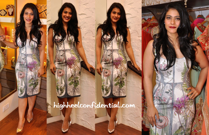 Kajol In Geisha Designs By Paras And Shalini At Malaga Store Launch-2
