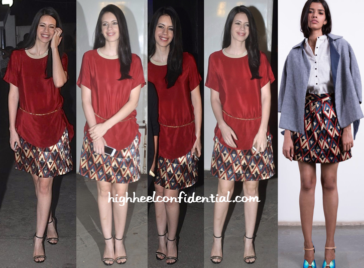 Kalki Koechlin In Shift By Nimish Shah At 'Happy Ending' Screening