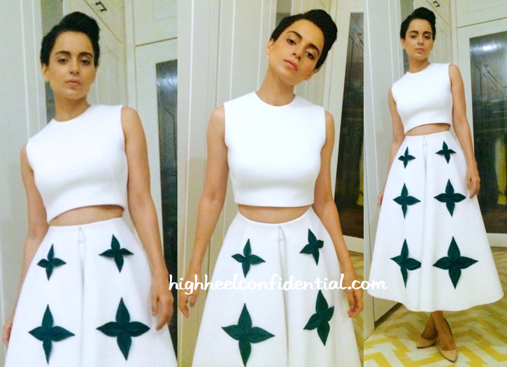 Kangana Ranaut Wears Gauri And Nainika To Shah Rukh Khan's Party