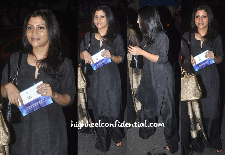 Konkona Sen Sharma At Prithvi Theatre Festival 2014