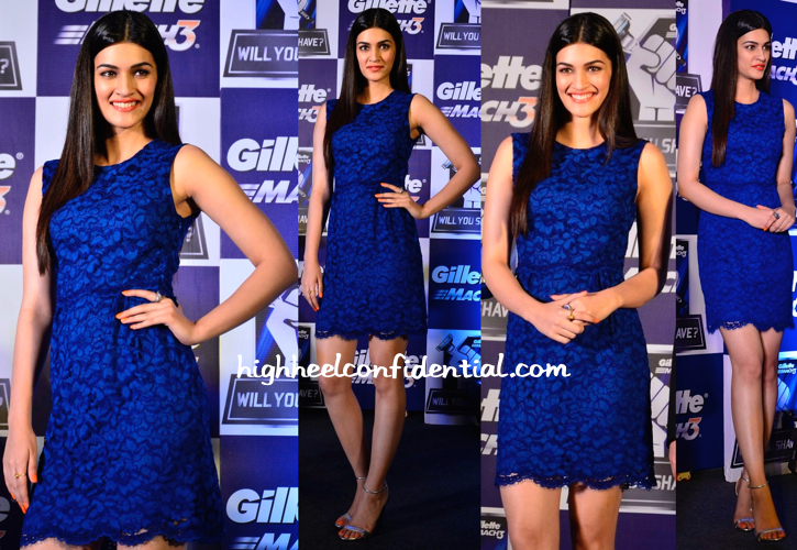 Kriti Sanon At Gillette Event