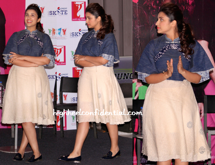 Parineeti Chopra In Urvashi Kaur At 'Kill Dil' Promotions-1