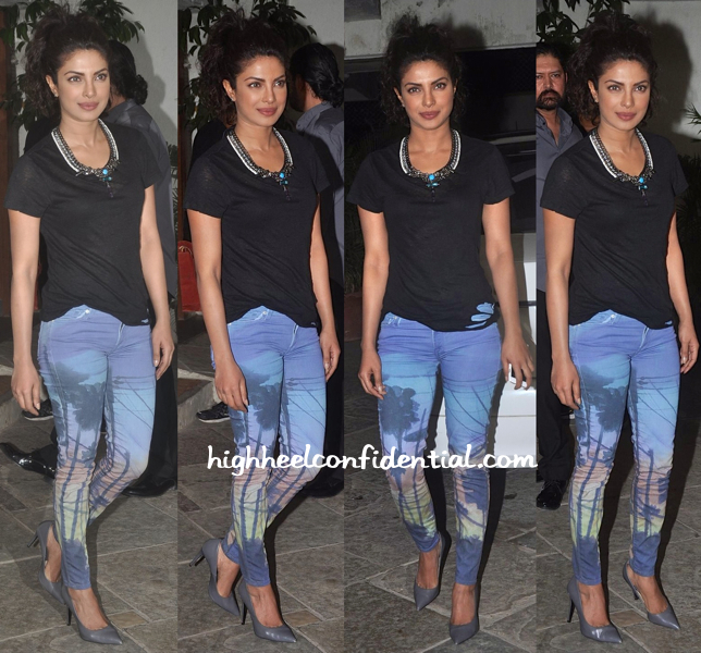 Priyanka Chopra At Sonali Bendre Goldie Behl Anniversary Party