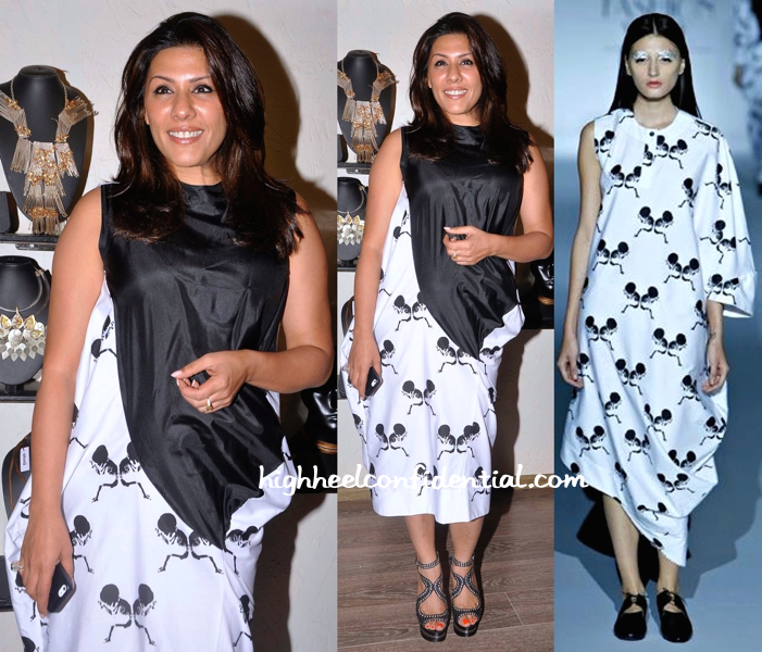 Reshma Merchant Wears Kallol Datta To A Collection Preview-Launch At Atosa