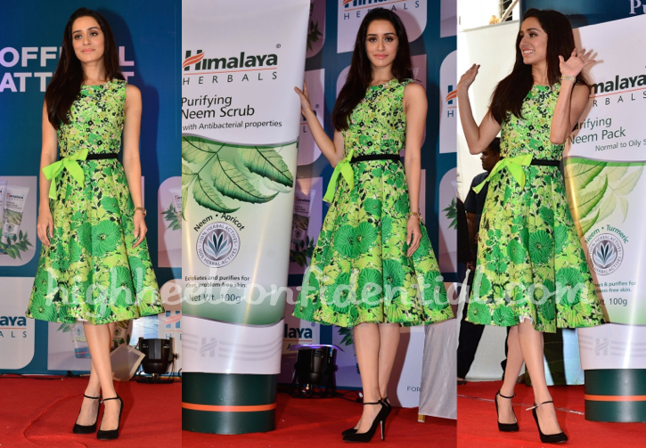 Shraddha Kapoor At Himalaya Herbals Event in andrew gn