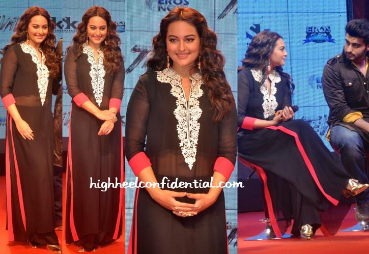 Sonakshi Sinha In Manish Malhotra At 'Tevar' Trailer Launch-2