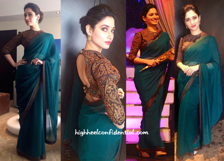 Tamannaah Bhatia On 'Koncham Touch Lo Unte Chepta' Sets-2