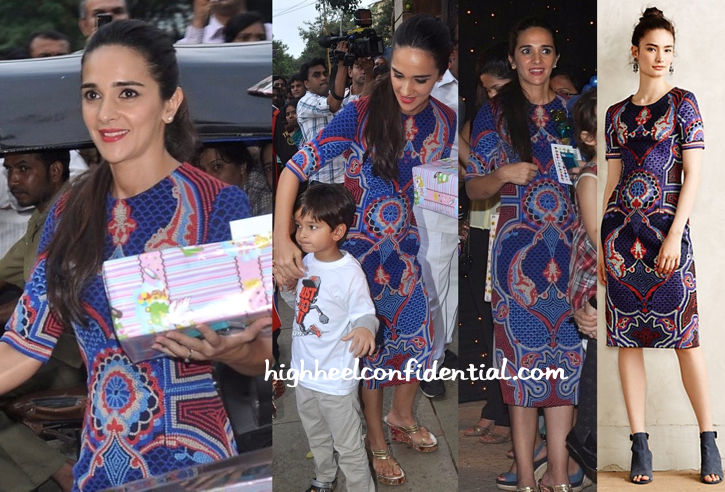Tara Sharma In Pankaj And Nidhi At Aaradhya Bachchan's Birthday Do