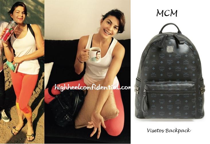 jacqueline-fernandez-mcm-backpack-studded