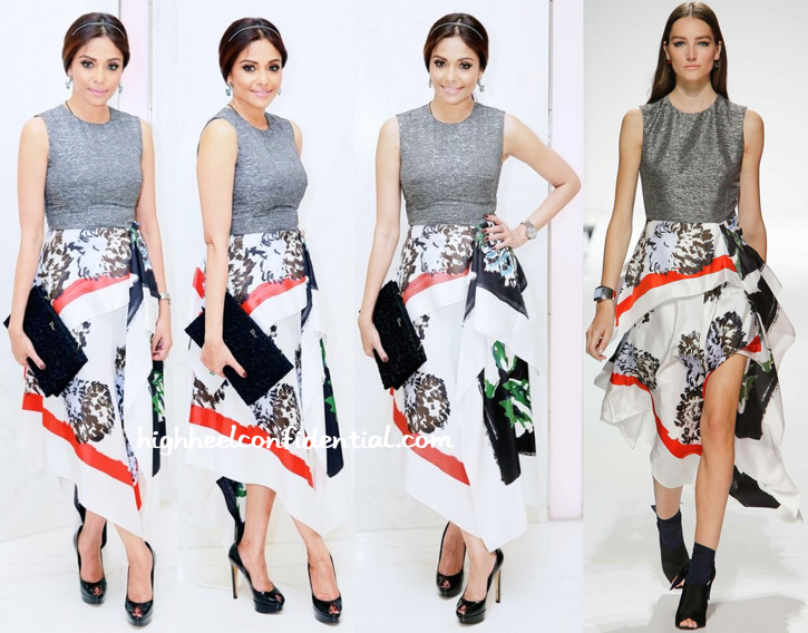 kalyani chawla in dior at business of fashion event