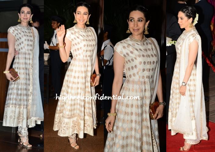 karisma-kapoor-arpita-aayush-wedding-reception