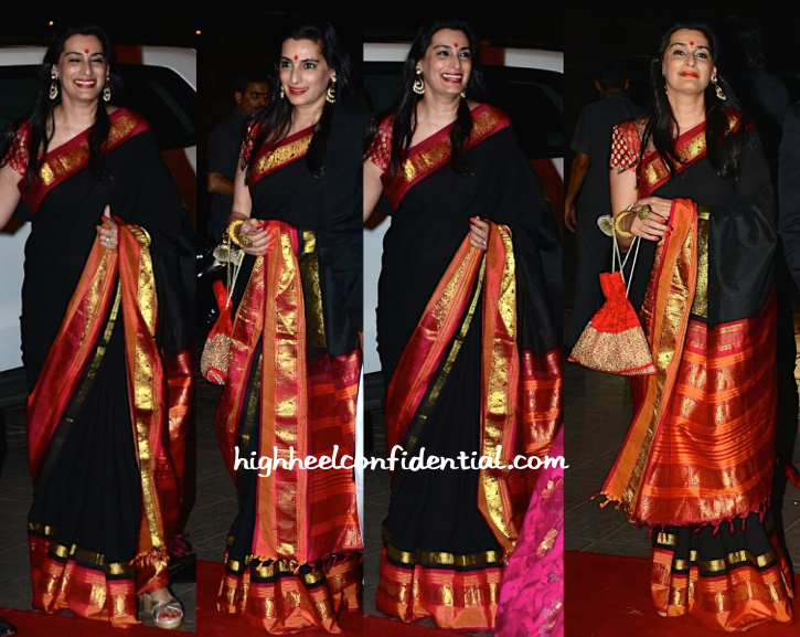 mana shetty at arpita khan wedding reception