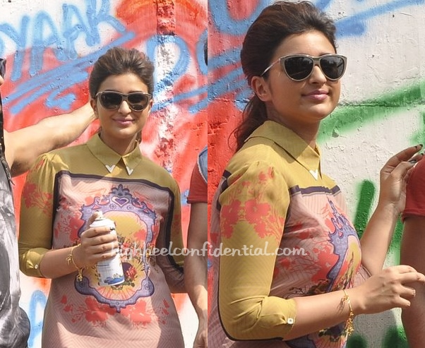 parineeti-chopra-nida-mrinalini-chandra-kill-dil-promotions