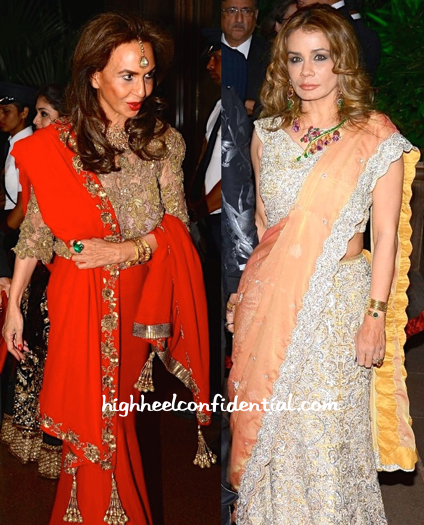 parmeshwar godrej and avanti birla at arpita mehta's wedding reception-2