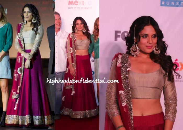 richa-chadha-manish-malhotra-cabos-film-festival-2014