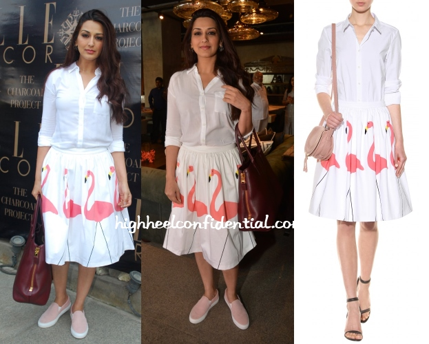 sonali-bendre-alice-olivia-flamingo-skirt-charcoal-project