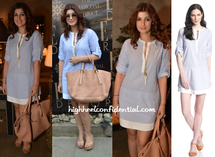 twinkle-khanna-bcbg-chambray-dress-charcoal-project