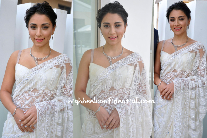 Amrita Puri In Akanksha Gajaria At Platinum Guild India's 'Evara' Collection Launch-2