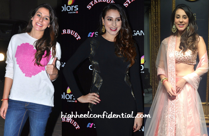 Anindita Nayar At PK Scsreening (In Zara), At Jade MK Studio Launch (In Jade) And At Stardust Awards (In Namrata Joshipura)-1