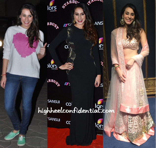 Anindita Nayar At PK Scsreening (In Zara), At Jade MK Studio Launch (In Jade) And At Stardust Awards (In Namrata Joshipura)-2