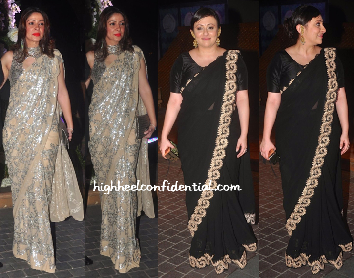 Bhavana Pandey And Avantika Malik At Riddhi-Tejas Sangeet Ceremony-1